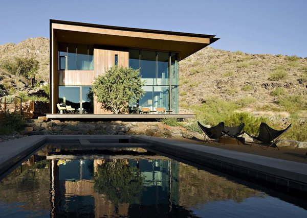 бассейн возле дома фото
