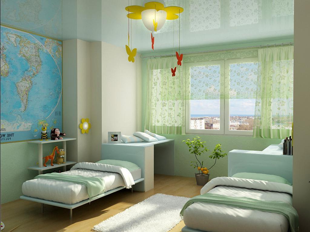 дизайн детской комнаты для двух мальчиков фото