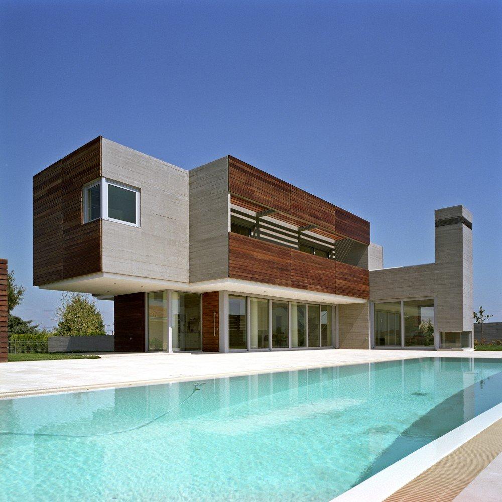 дизайн дома г-образной формы