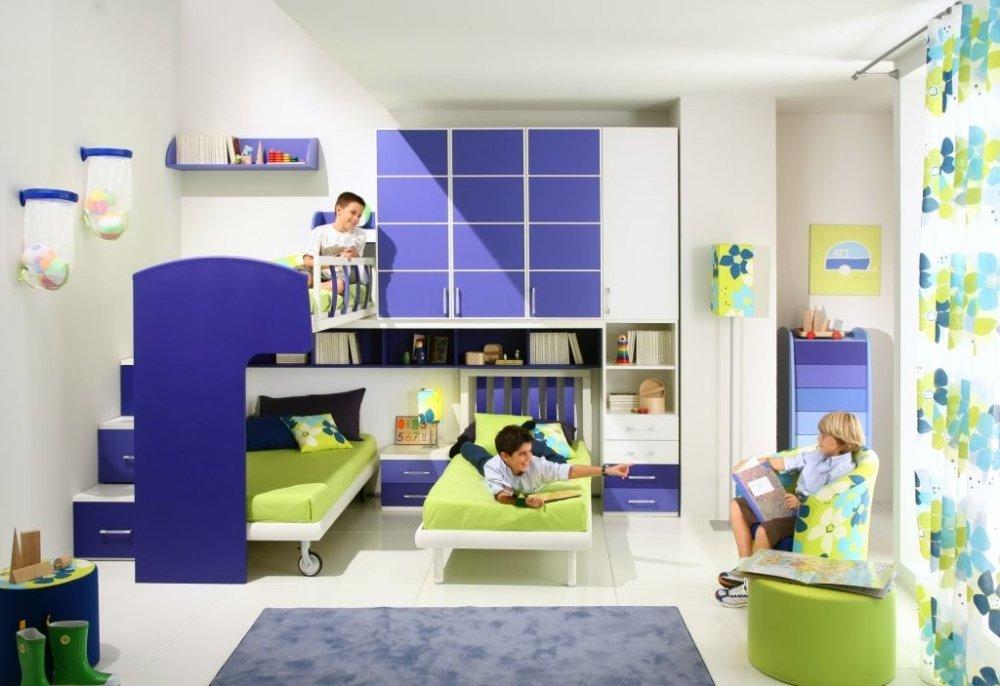 дизайн комнаты для 2 мальчиков фото дизайн