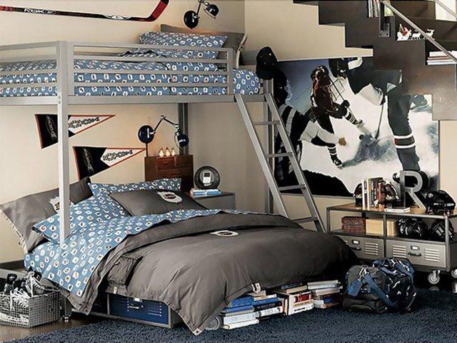 дизайн комнаты для 2 мальчиков фото