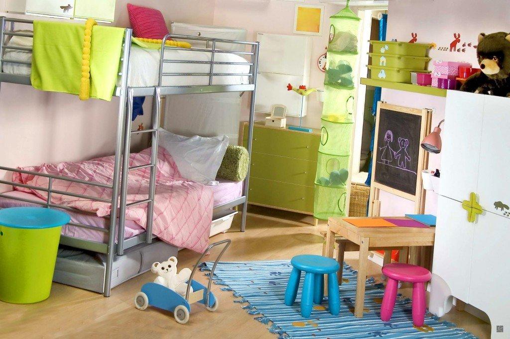 дизайн комнаты для двух детей разного возраста