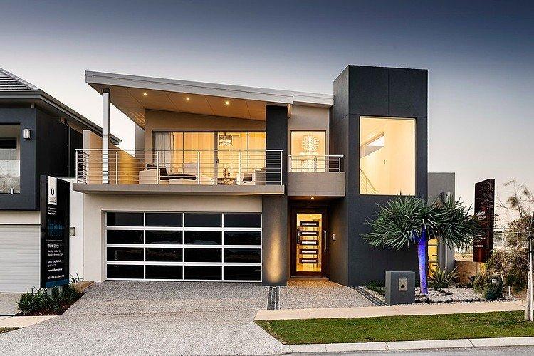 дизайн подъезда к частному дому