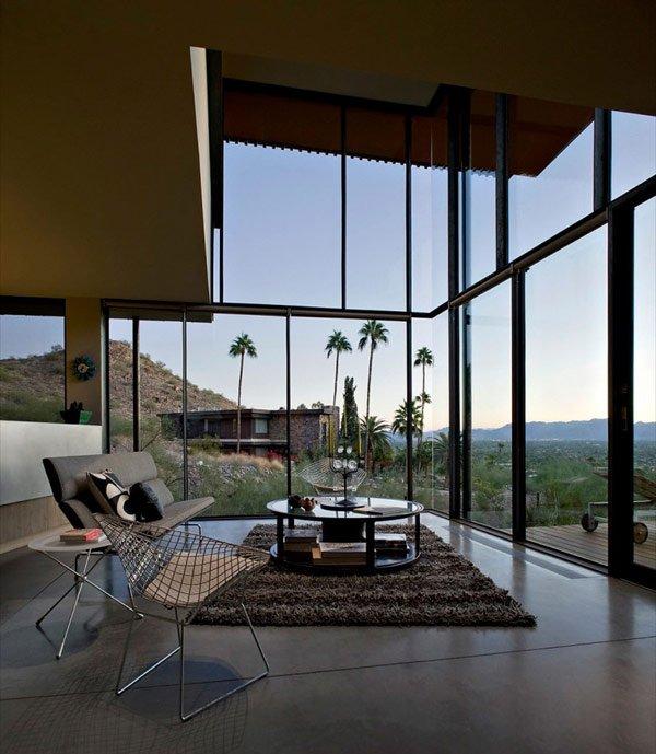 дизайн стеклянной веранды