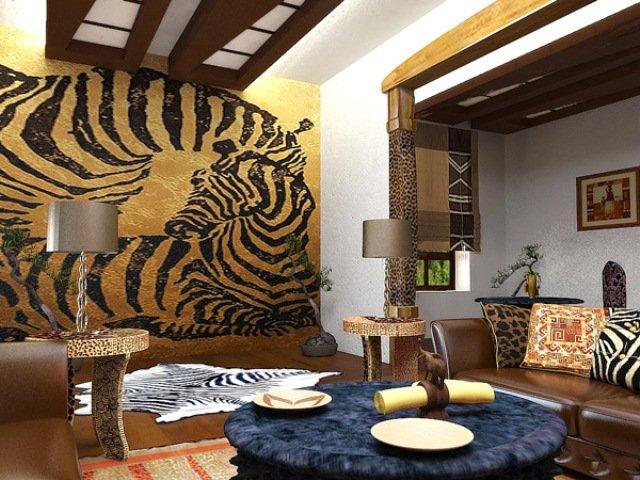 этнический стиль в интерьере дома