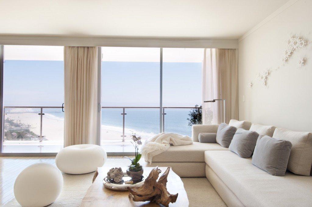льняные шторы интерьере квартиры