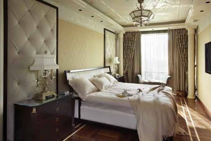 современная классика в интерьере спальни
