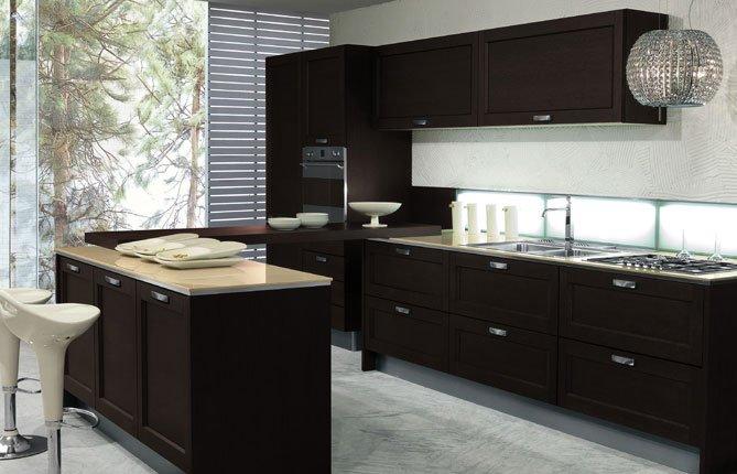 кухня в стиле современный модерн