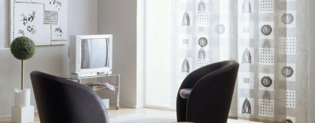 шторы в интерьере квартиры