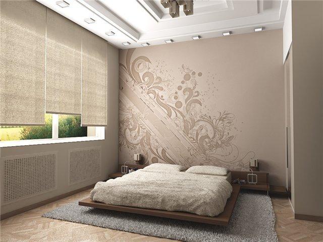спальня в стиле современный модерн