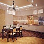 дизайн интерьера кухни гостиной фото