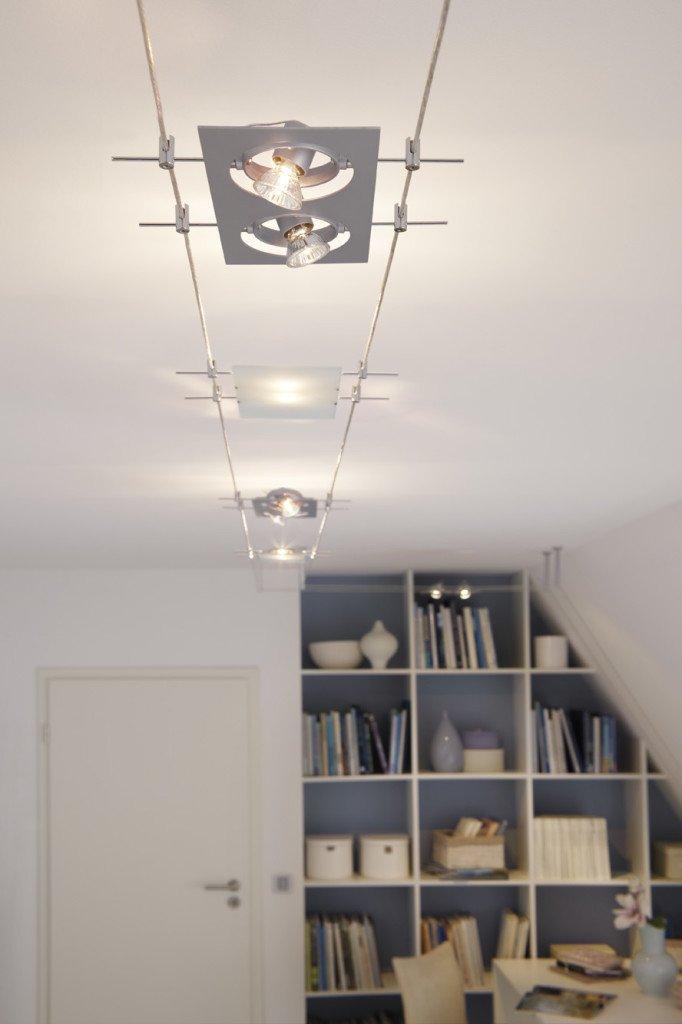 струнные светильники фото