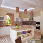 оформление кухни 10 кв м фото