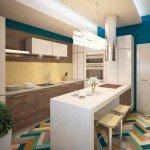 дизайн кухни 12 кв метров фото