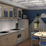 современный дизайн кухни 9 кв м фото