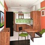 интерьер кухни 14 кв м фото