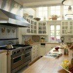дизайн прямоугольной кухни 15 кв м фото