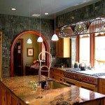 дизайн кухни в стиле модерн фото