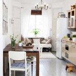диваны на кухню прямые