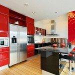кухня с фотообоями фото