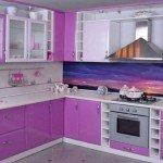 кухни с фотообоями фото