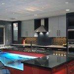 кухня в хайтек стиле