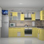 маленькие кухни угловые
