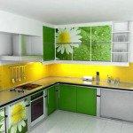 угловые кухонные гарнитуры для маленькой кухни фото