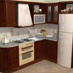 красивые угловые кухни фото