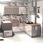 кухни п образной формы фото