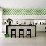 дизайн обоев кухни фото