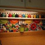 фартук из мозаики для кухни