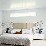 дизайн спальни с белой мебелью фото