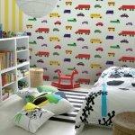детские комнаты для мальчика фото