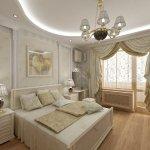 шторы для спальни в классическом стиле фото