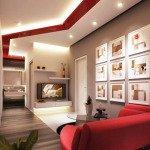 подвесные потолки с подсветкой фото