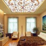 интерьеры потолков из гипсокартона фото