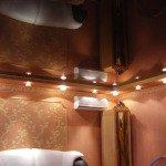 красивый потолок из гипсокартона фото