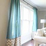 шторы в гостиную на два окна фото