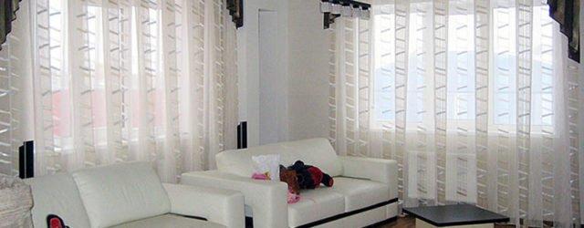 дизайн штор для зала фото