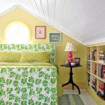 дизайн спальни в мансарде фото