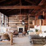 интерьер деревянных домов фото
