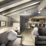 дизайн деревянного дома внутри фото
