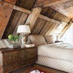 интерьер деревянного загородного дома фото