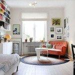 интерьер для однокомнатной квартиры фото