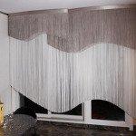 шторы нитками