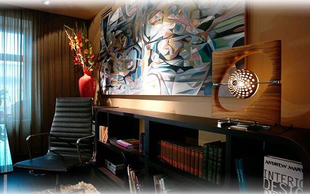 стены рабочего кабинета