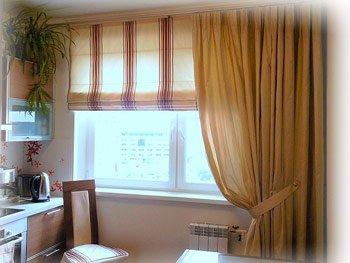Идеи оформления кухонного окна