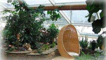 Оборудование зимнего сада