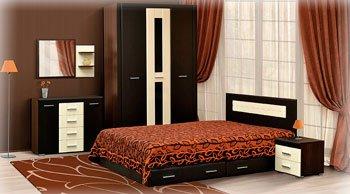 Удобная мебель в спальне